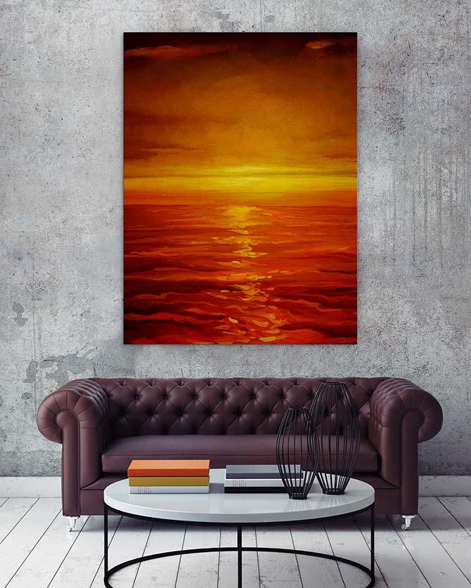 Colour Match - Saffron
