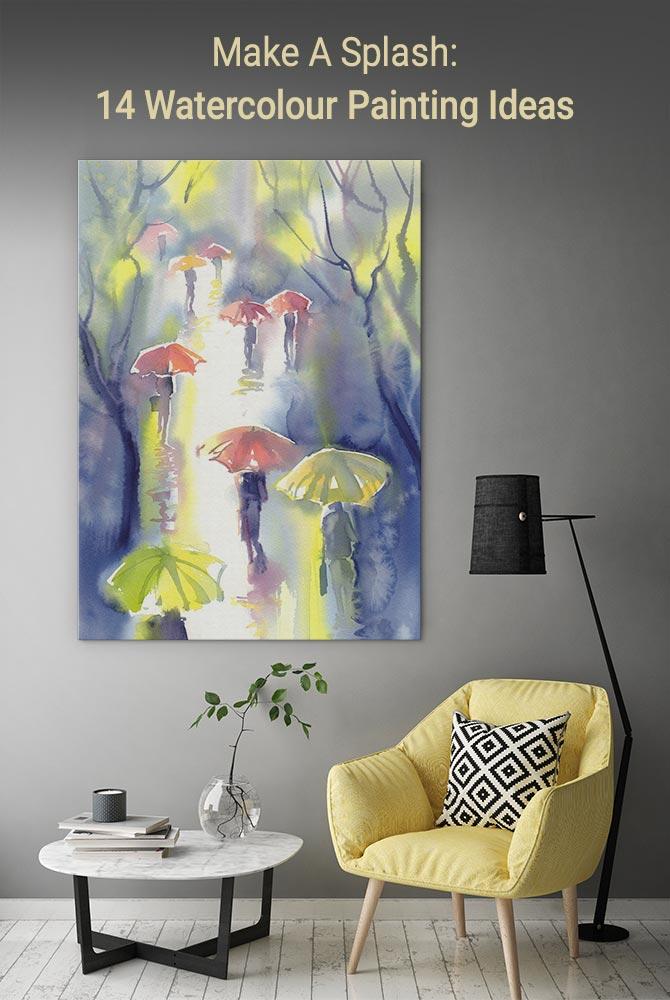 Make A Splash: 14 Watercolour Painting Ideas