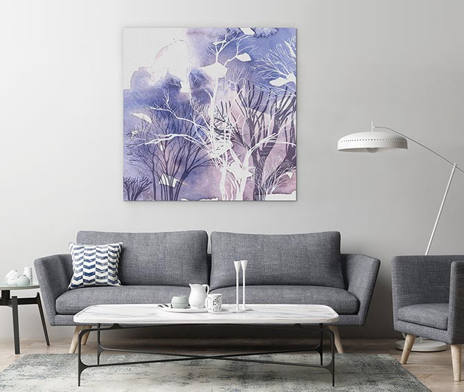 Watercolour Painting Ideas - Winter