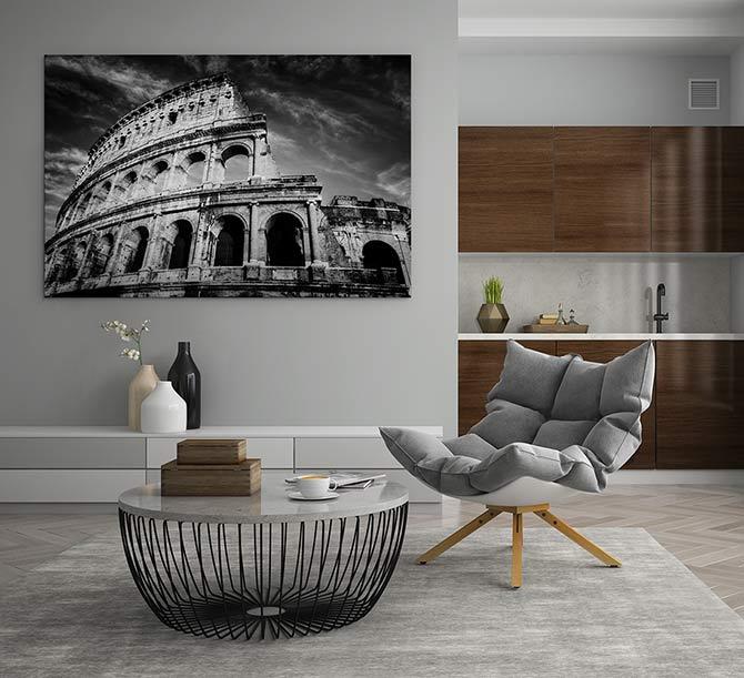 Italian Art - Colosseum