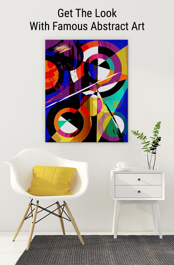 Get The Look With Famous Abstract Art