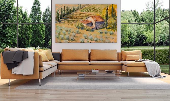 Italian Art - Farm