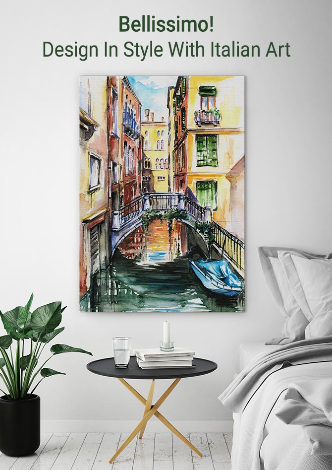 Bellissimo! Design In Style With Italian Art