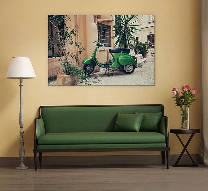 Italian Art - Vespa