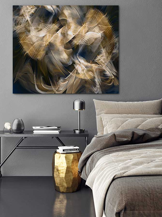 Contemporary Interior Design - Metallic