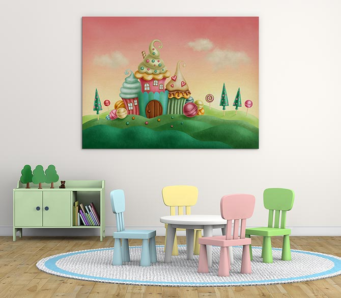 Digital Painting - Candyland