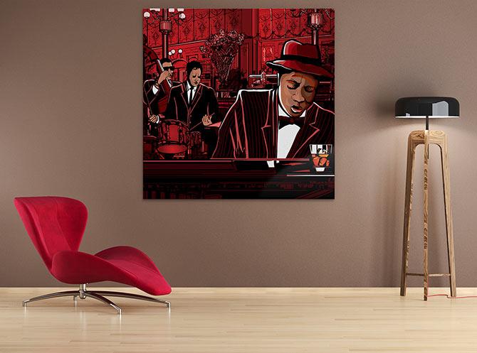Digital Painting - Jazz