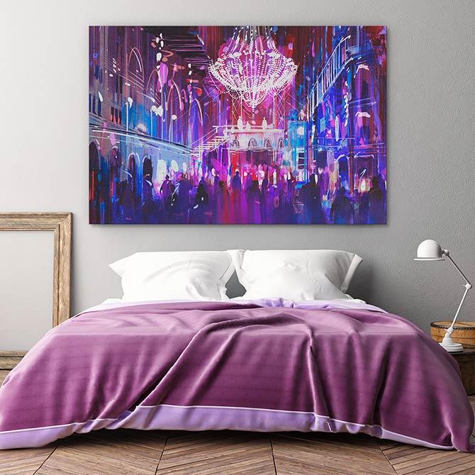 Digital Painting - Nightlife
