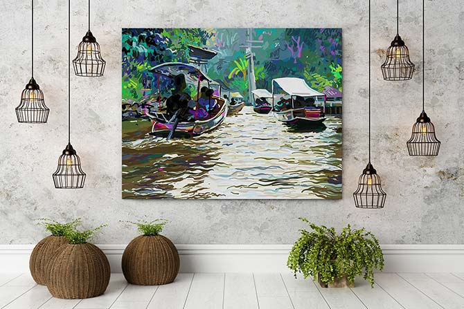 Digital Painting - River
