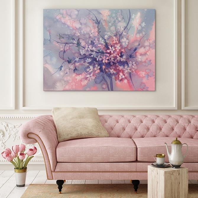 Pastel Art - Blossom