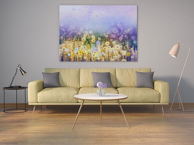 Pastel Art - Meadow