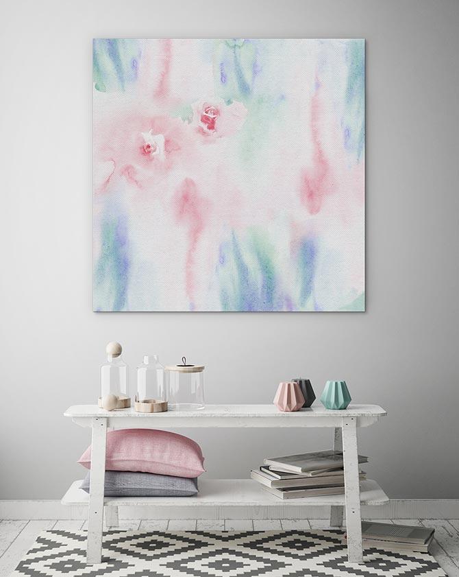 Pastel Art - Rose