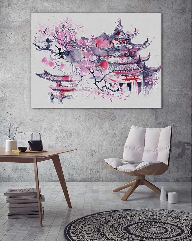 Pastel Art - Sakura