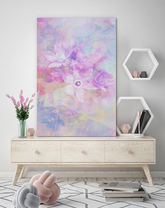 Pastel Art - Softly