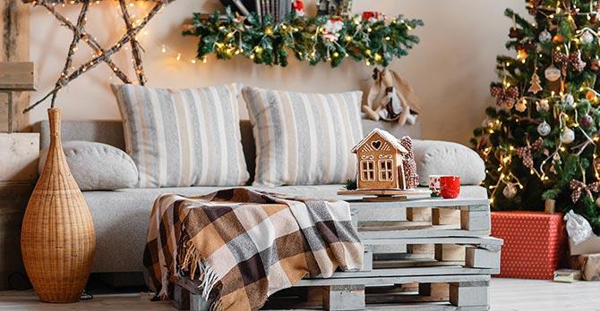 Festive Home - Living Room