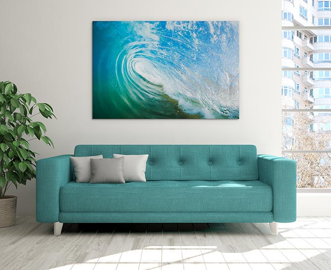 Wave Art - Barrel