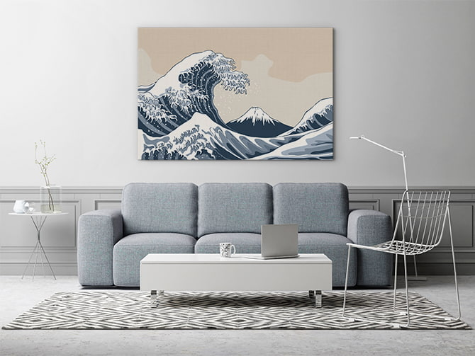 Wave Art - Japanese