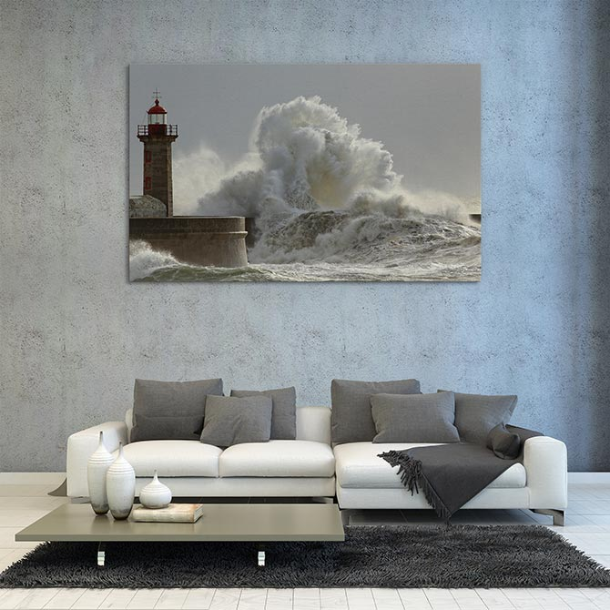 Wave Art - Lighthouse