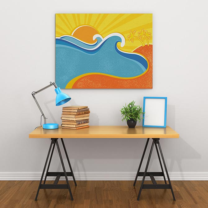 Wave Art - Sunshine