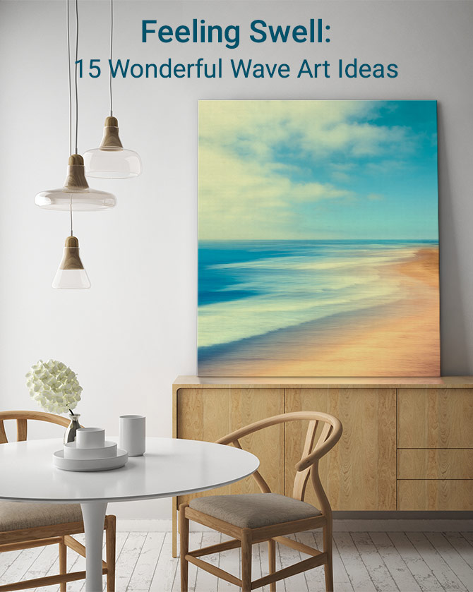 Feeling Swell: 15 Wonderful Wave Art Ideas
