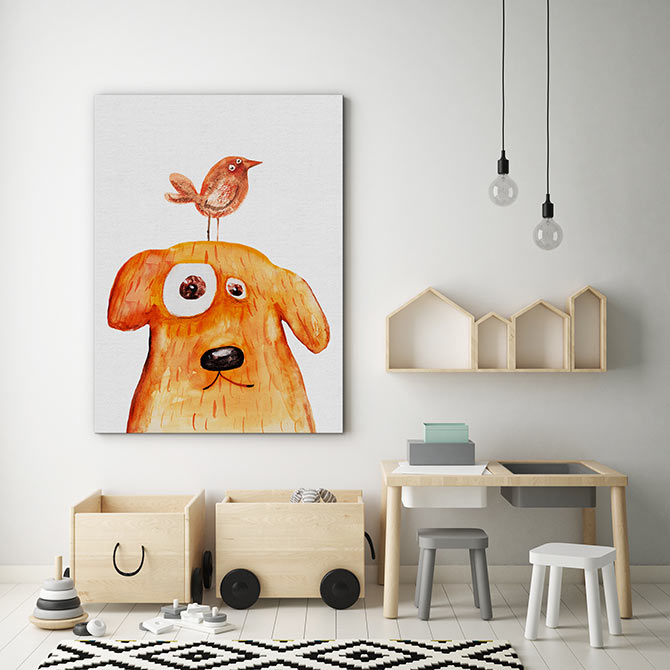 Dog Art - Bird