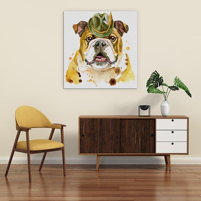 狗艺术 - 斗牛犬