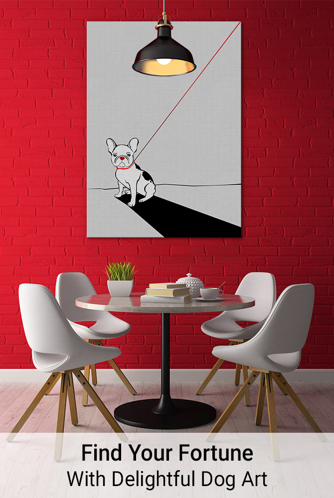 Find Your Fortune With Delightful Dog Art