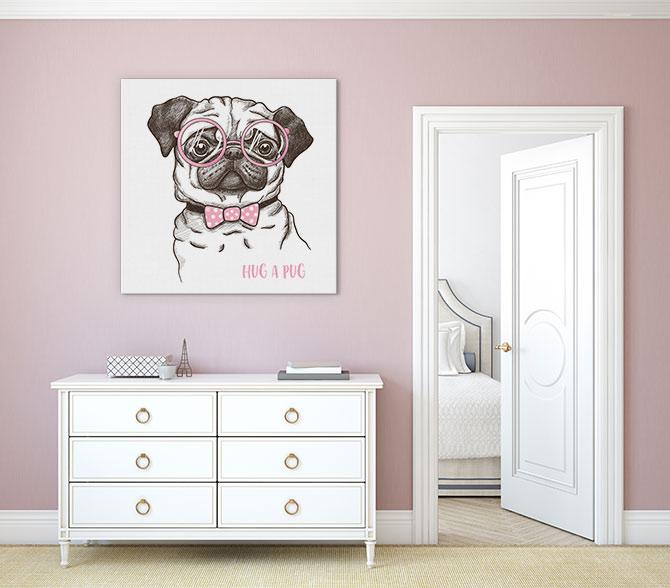 Dog Art - Pug
