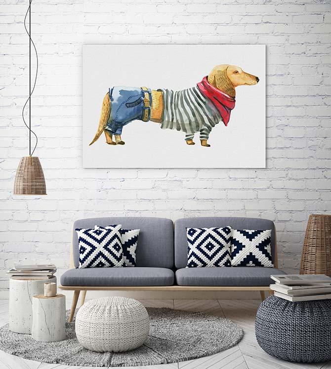 Dog Art - Sausage