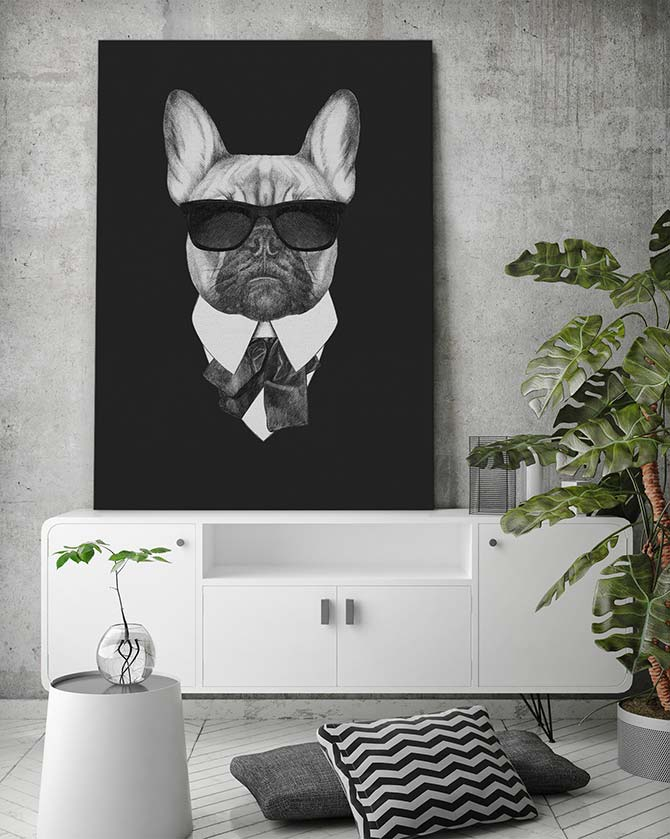 Dog Art - Suave