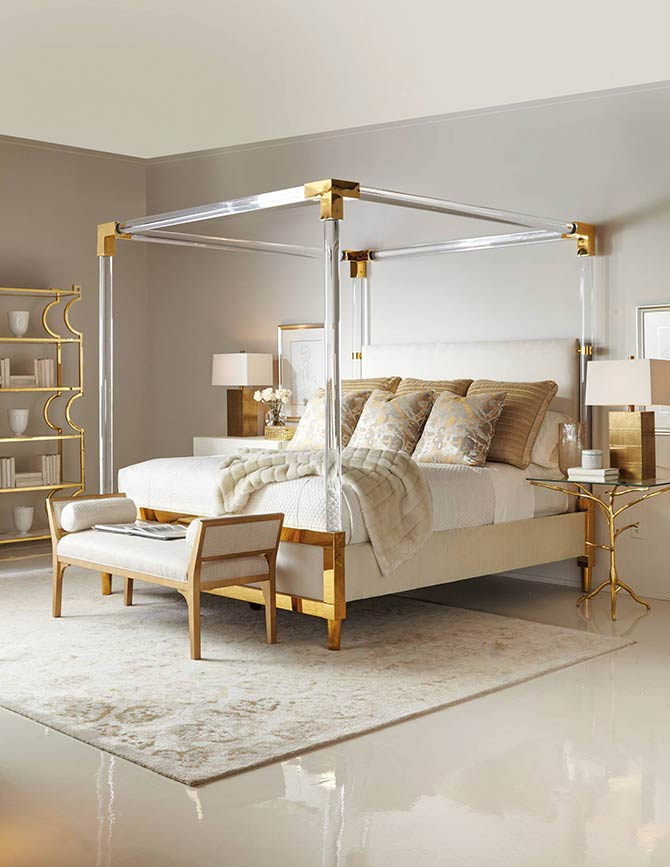 master bedroom bling canopy bed