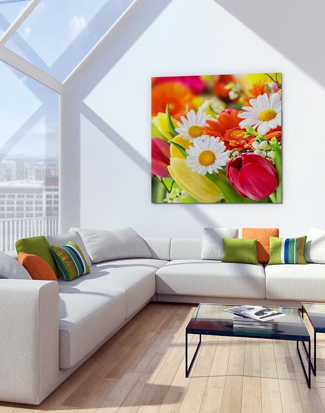Get floral with easter art