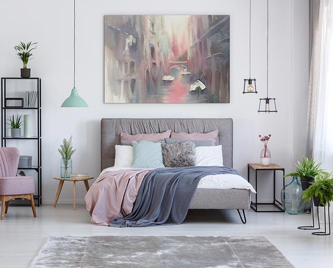 indoor plants in the bedroom help you to sleep