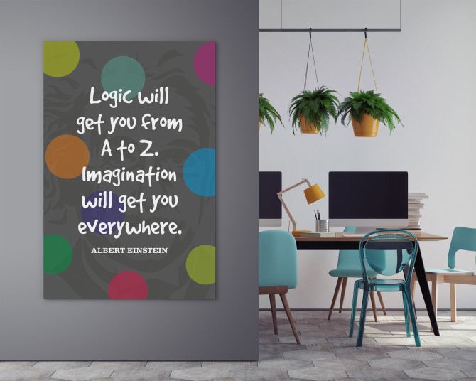 uplifting quote large wall art