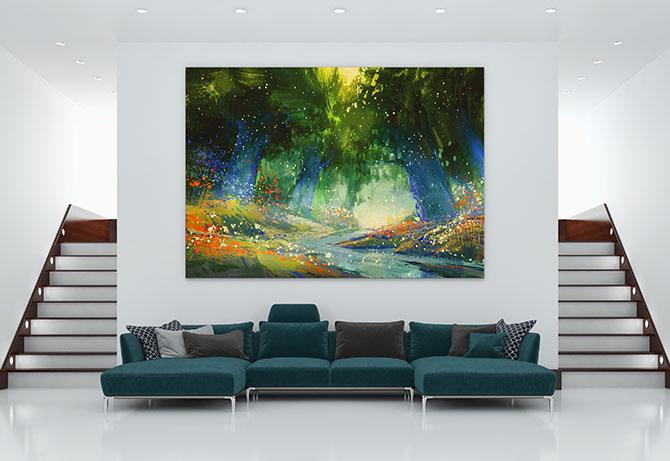 interesting large wall art
