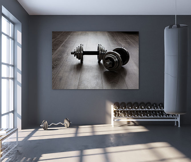 interior design trends for your gym