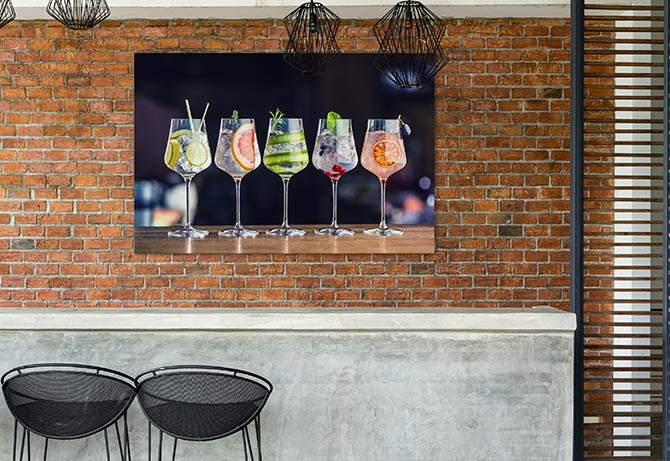 corporate art work for bars