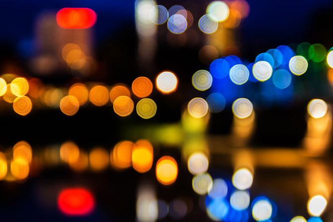 Photography terms bokeh