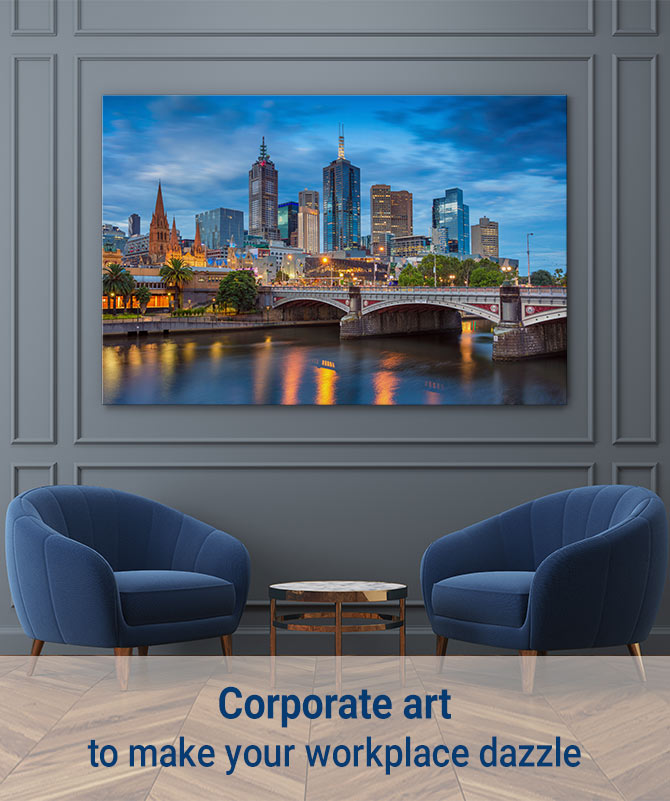 Corporate Art To Make Your Workplace