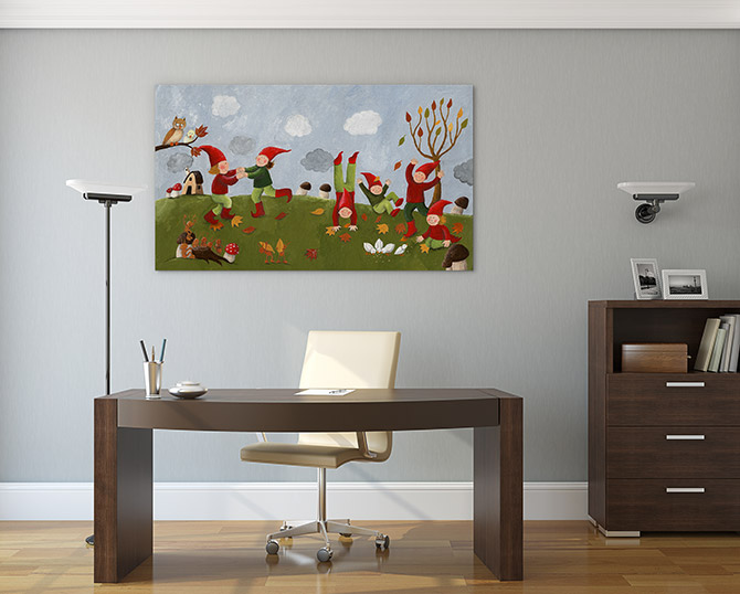 corporate art for an office