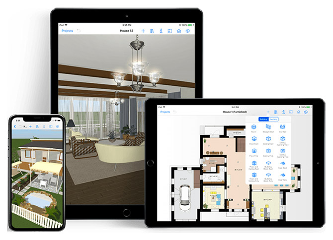 Interior design web apps