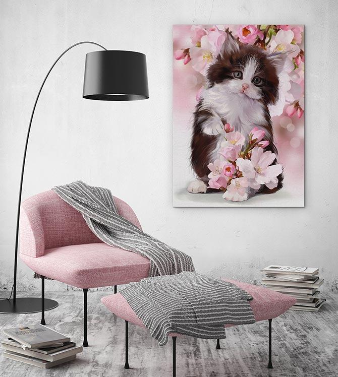 cute cat art
