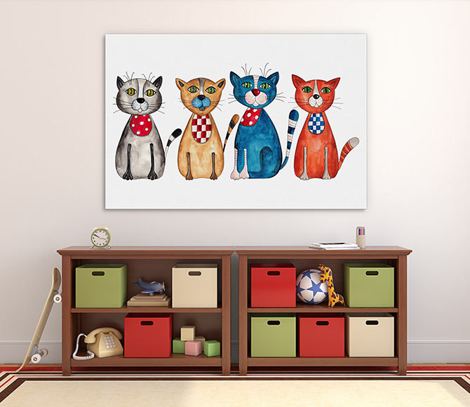 cat art for kids