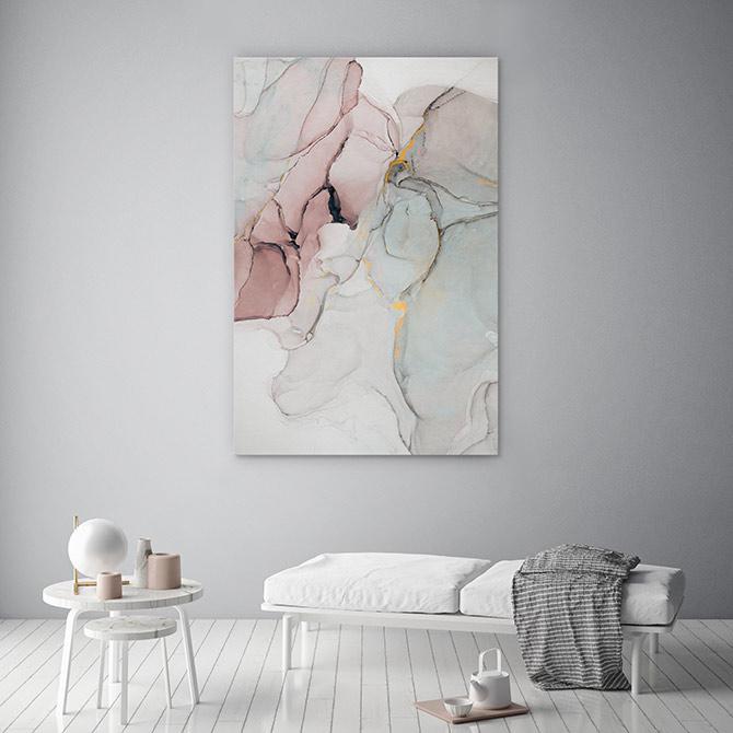 meditation room abstract art