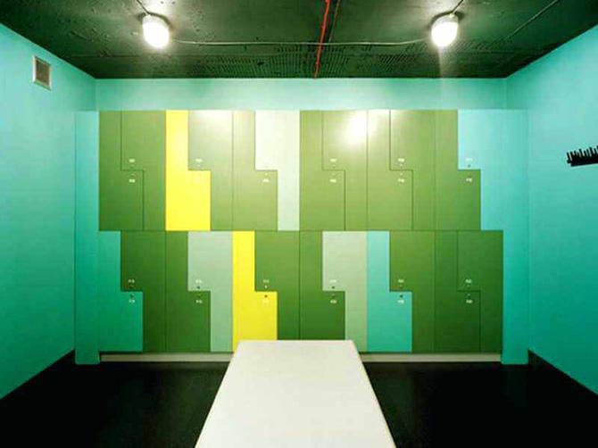 meditation room and yoga studio