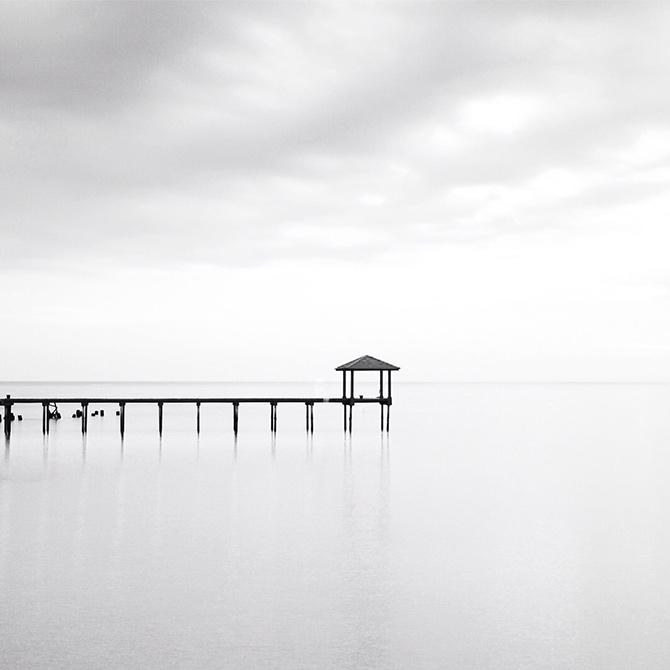 minimalist photography in mono