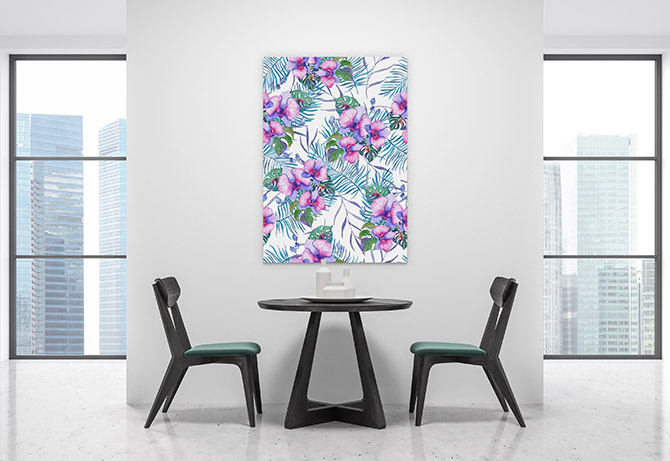 floral patterns for the dining room