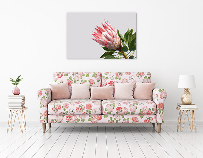 floral patterns in artwork