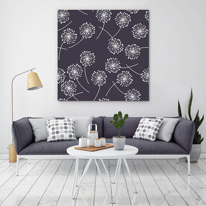 floral patterns in home decor