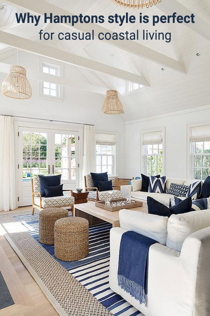 Why Hamptons Style Is Perfect For Casual Coastal Living